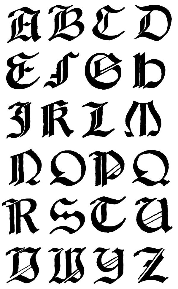 fancy greek letters