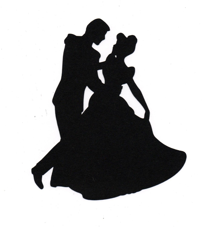 Wedding Man And Woman Silhouette Dancing 117