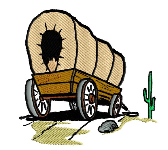 Pix For > Pioneer Wagon Clipart