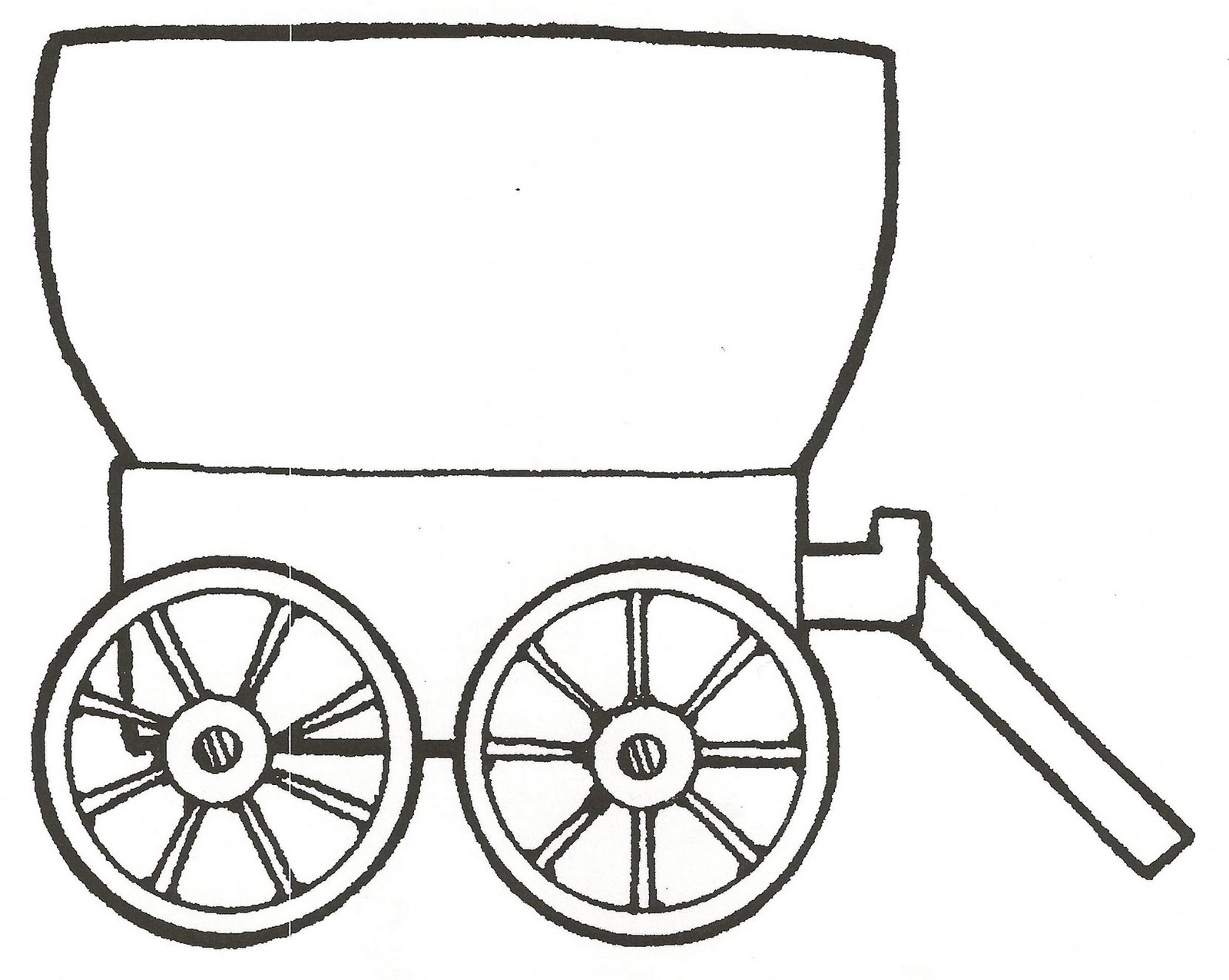 wagon trains coloring pages - photo#24