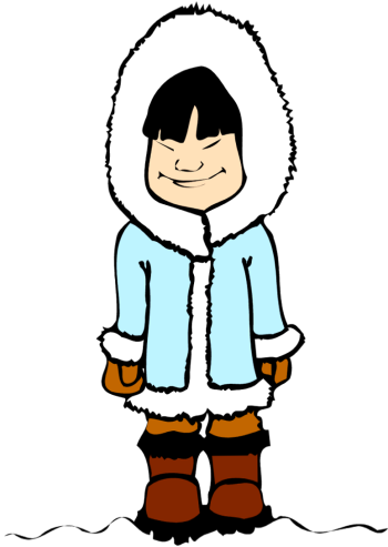 eskimo clipart rh worldartsme com american eskimo clipart eskimo clipart black and white