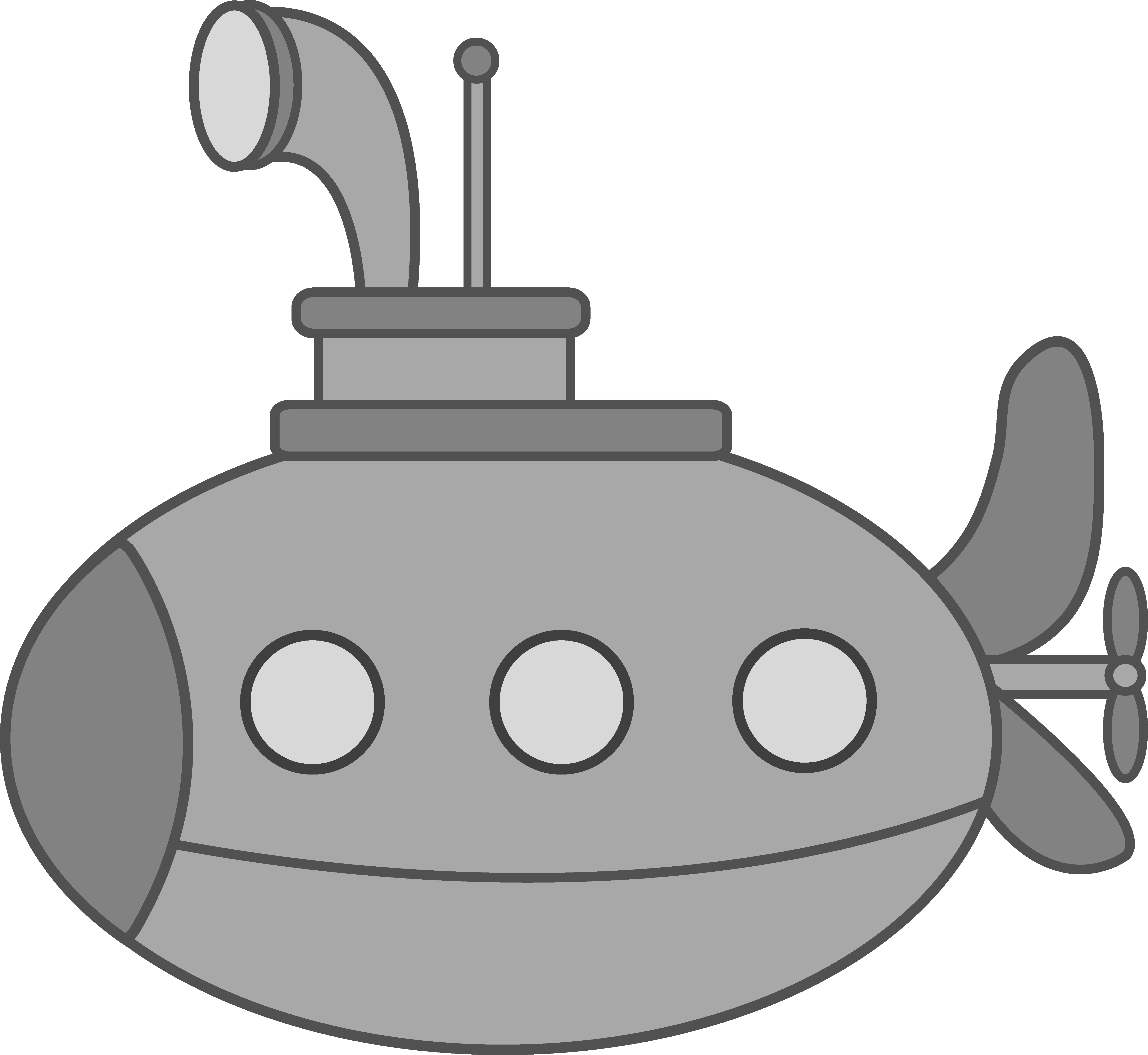 Submarine Clipart - Cliparts.co