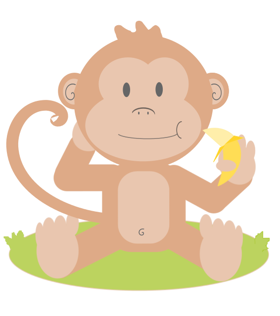 Baby Monkey Cartoon Pictures - Cliparts.co