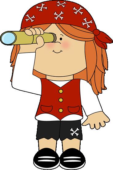 pirate telescope clipart - photo #16