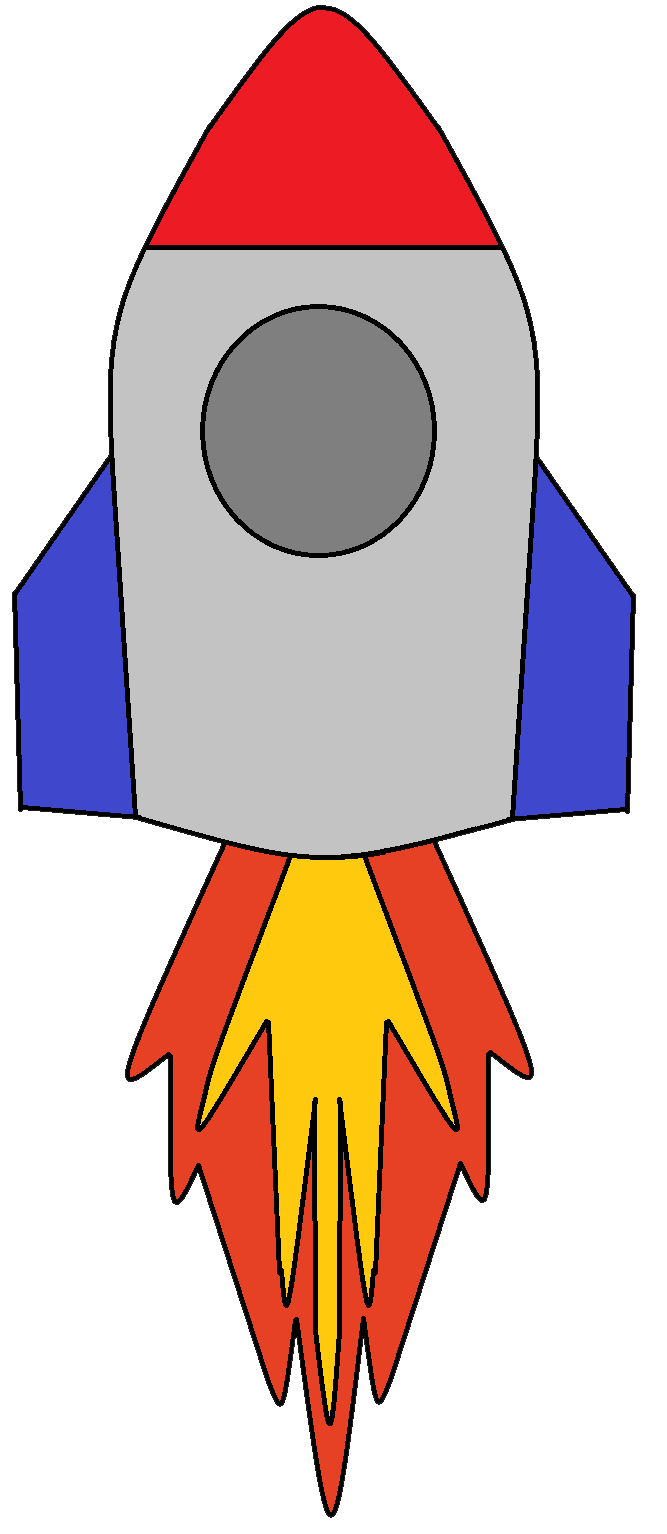 Picture Of A Rocket - Cliparts.co