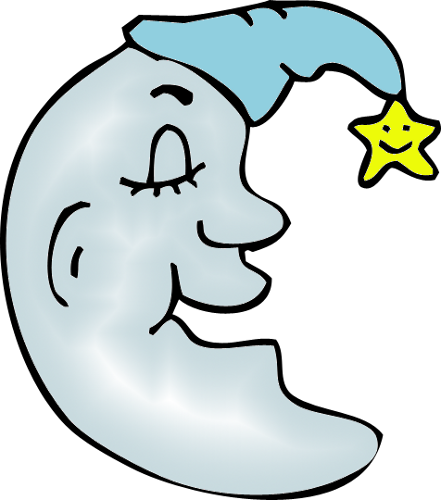 man in the moon clipart - photo #3