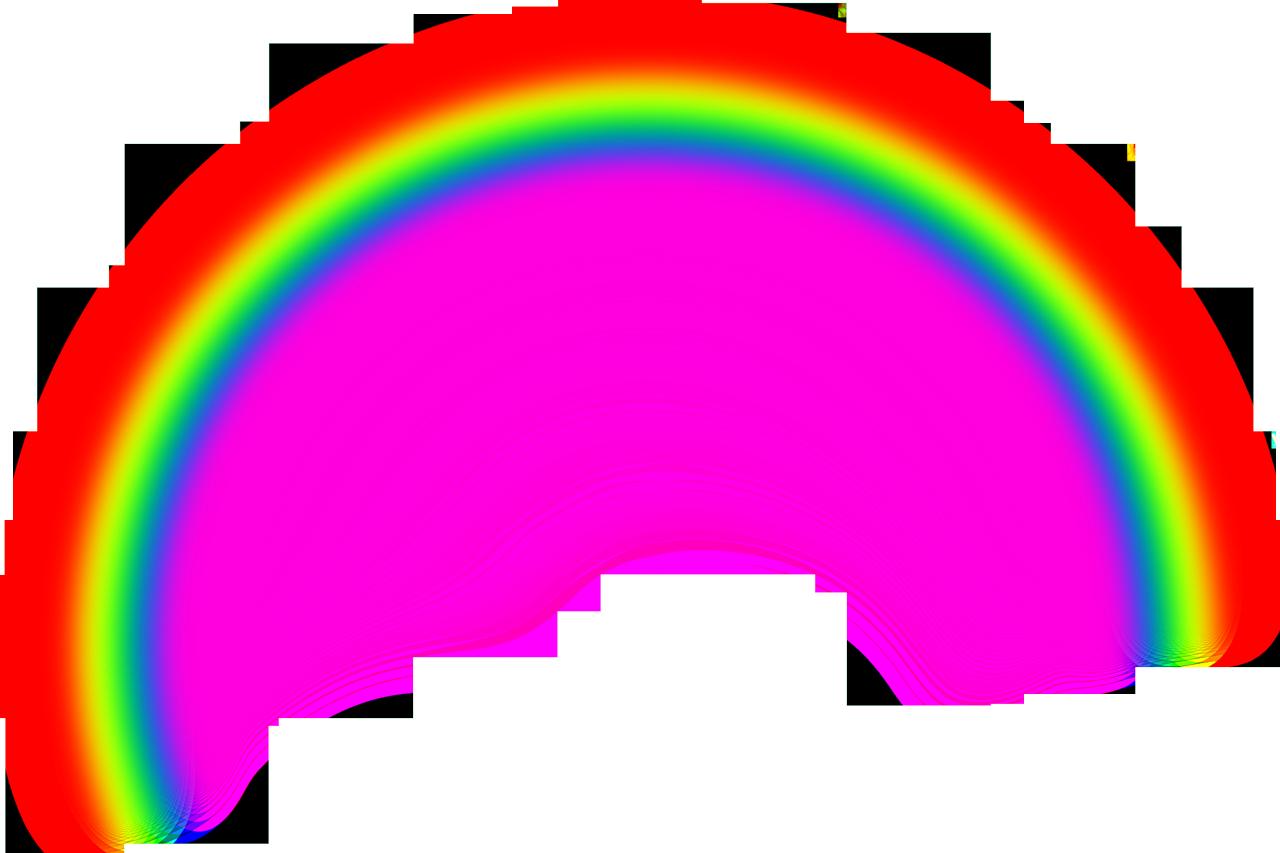 Transparent Rainbow Fr...