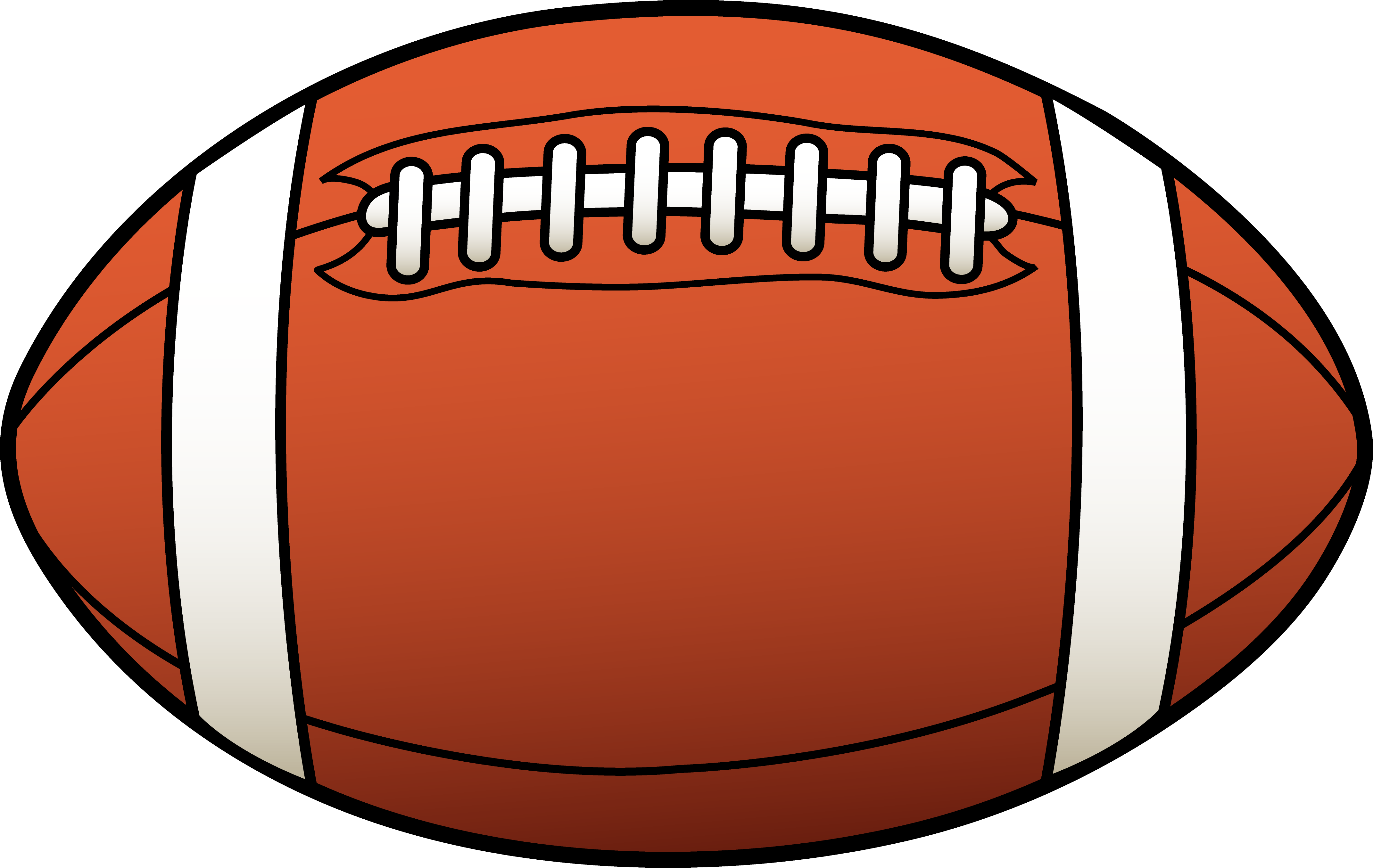 american football clipart clipartsco
