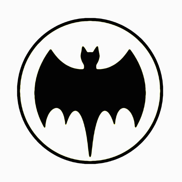 Bat Signal Wall Decal - Custom Wall Graphics
