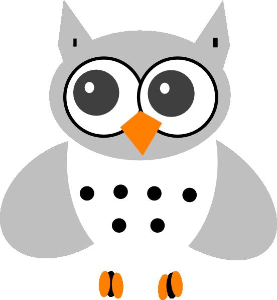 Cartoon Snowy Owl - Cliparts.co