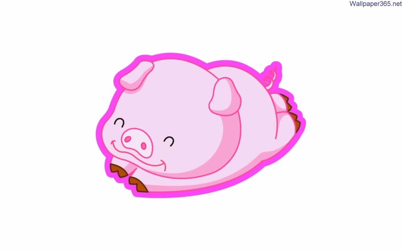 Baby Pig Clipart Cute Ba Cartoon Royalty Free Cliparts Vectors
