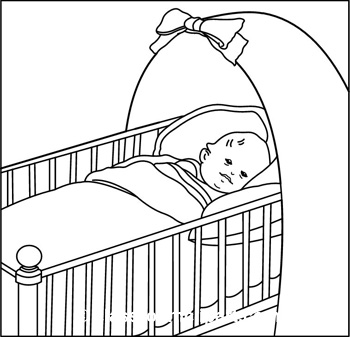 Baby Crib Clip Art - Cliparts.co