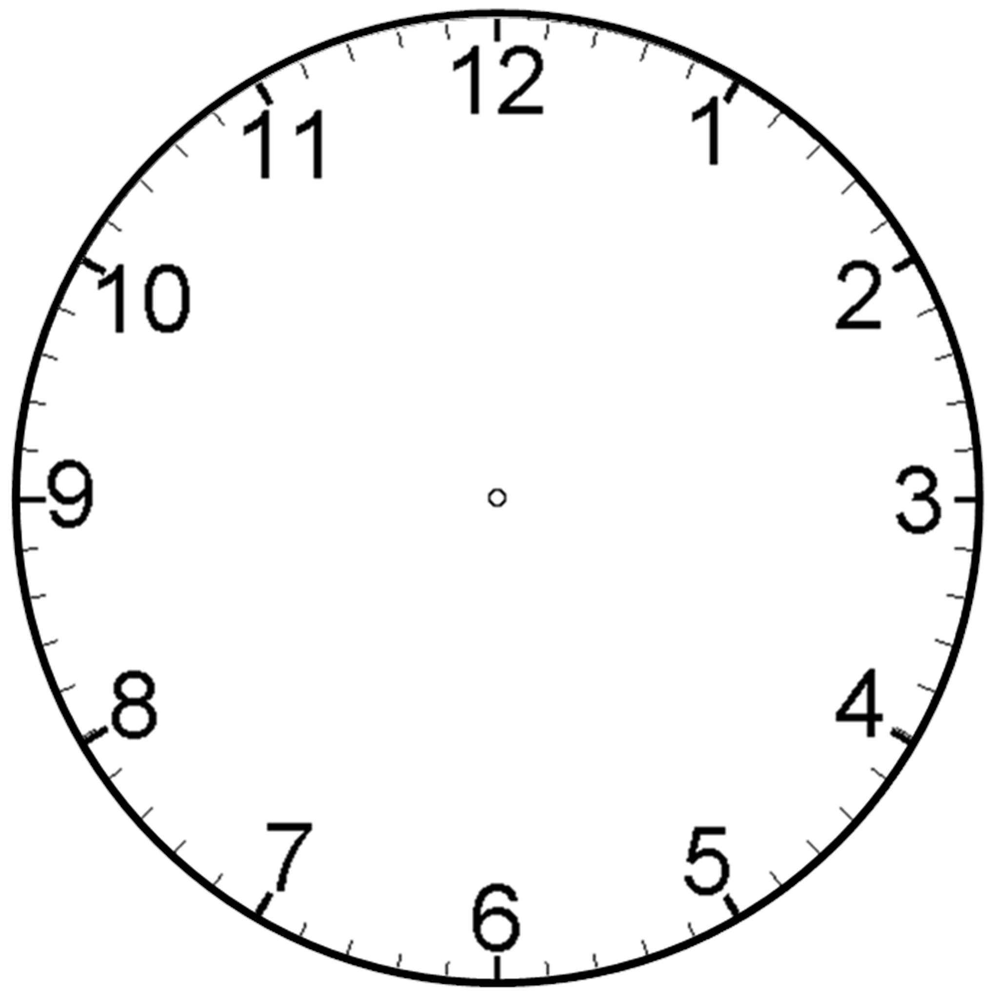 Image Of A Clock - Cliparts.co