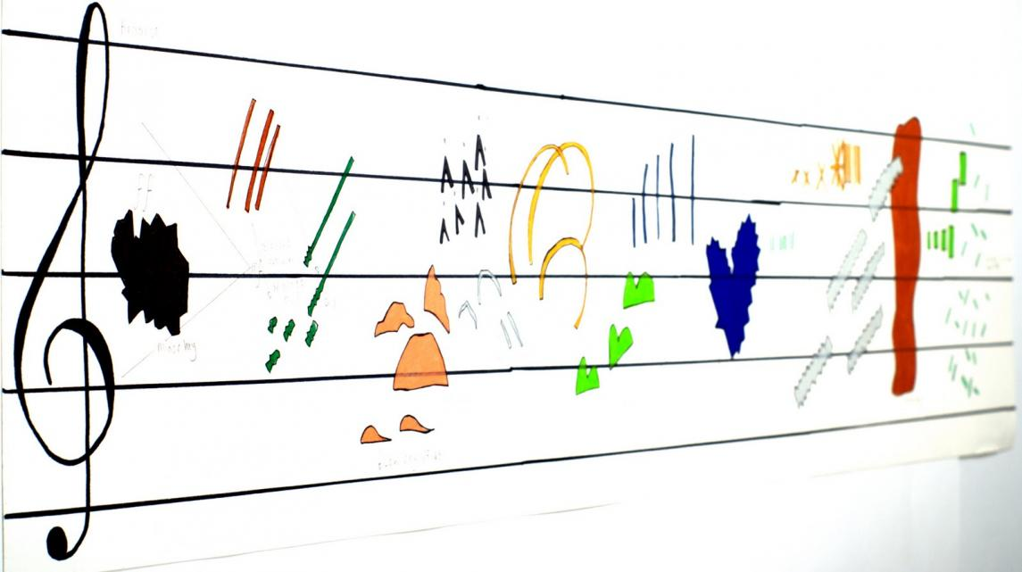 Image Of Graphic Scores In Music | Graphic Picture Site