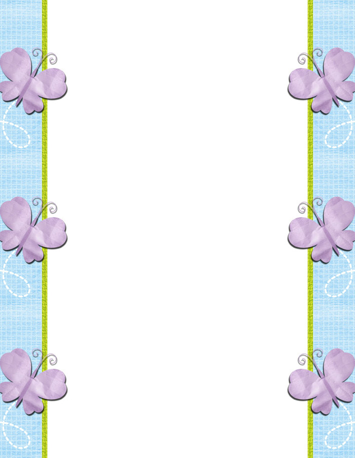 Free printable baby stationery, free baby stationary border paper ...