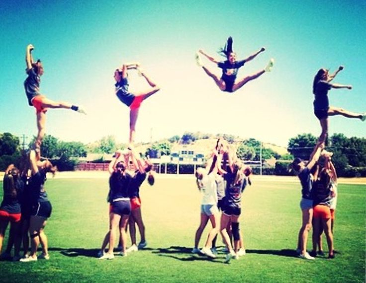 difficulties of cheerleading