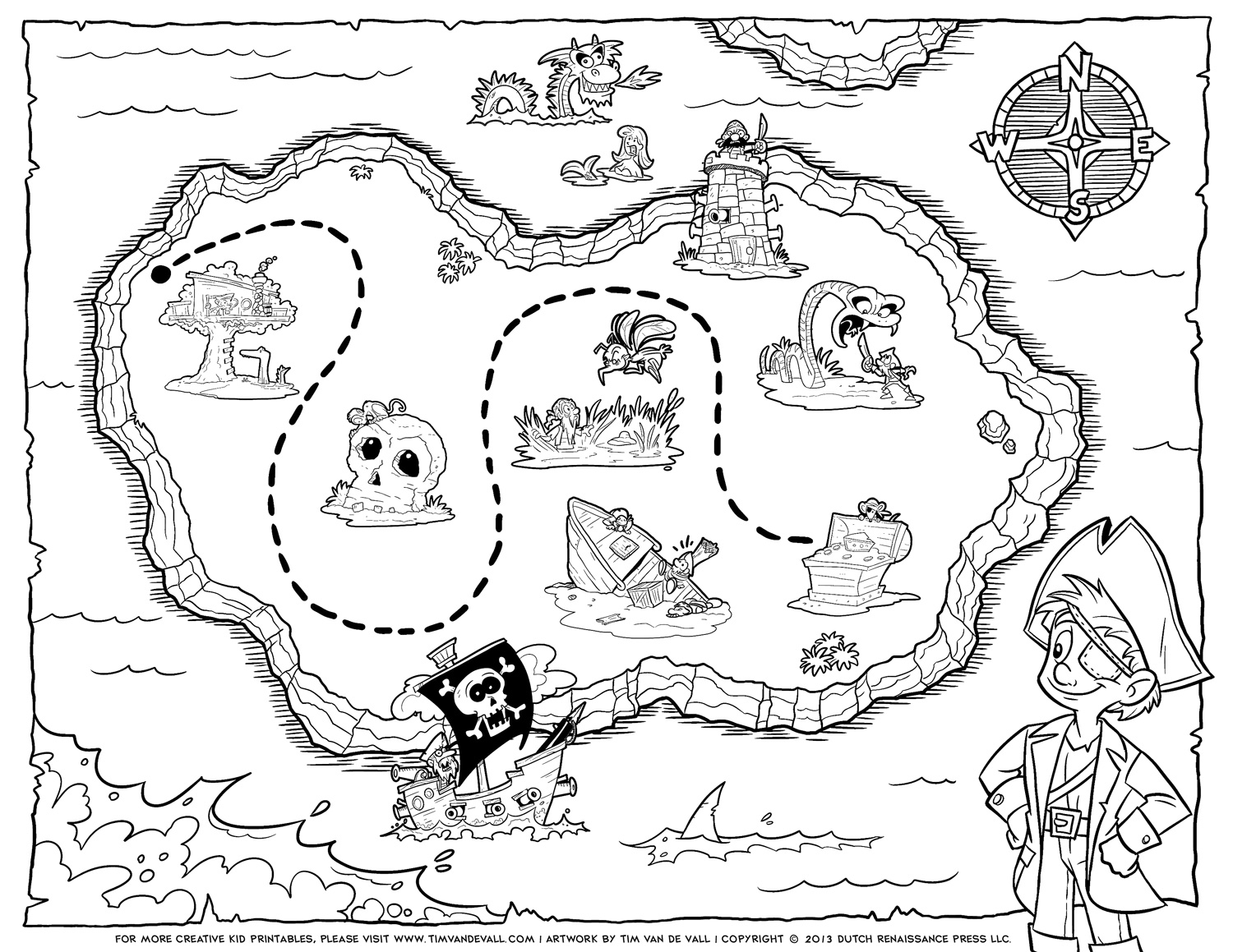 pirate map cliparts co