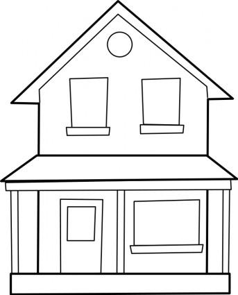 House Line Art
