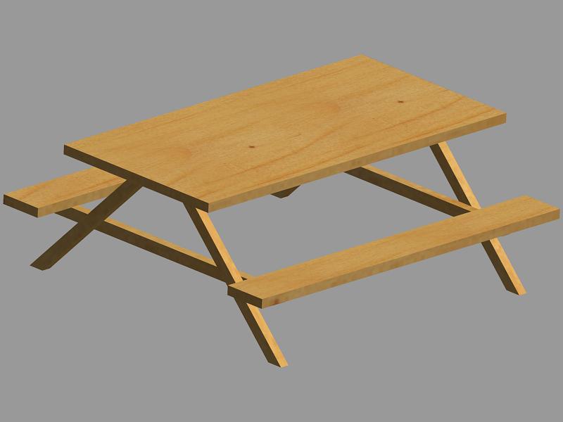 Picnic Table Clip Art Picnic Table Clip Art ...