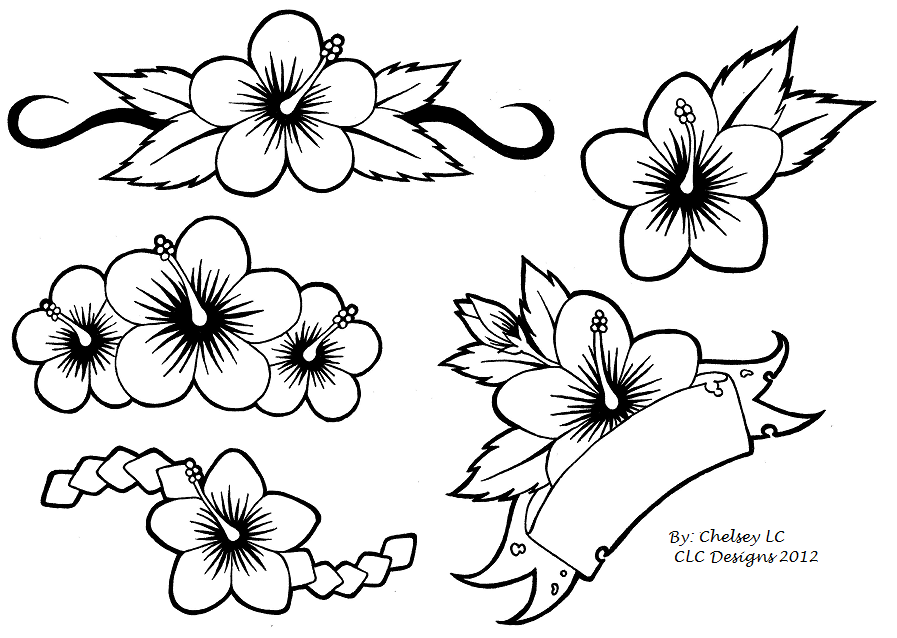 Simple Flower Designs - Cliparts.co