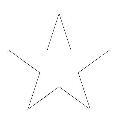 Stars drawings for How to draw a perfect star shape