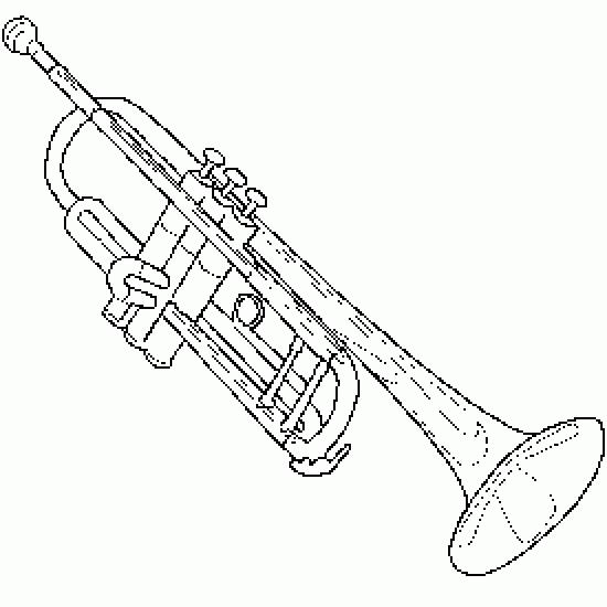 musical instruments drawings