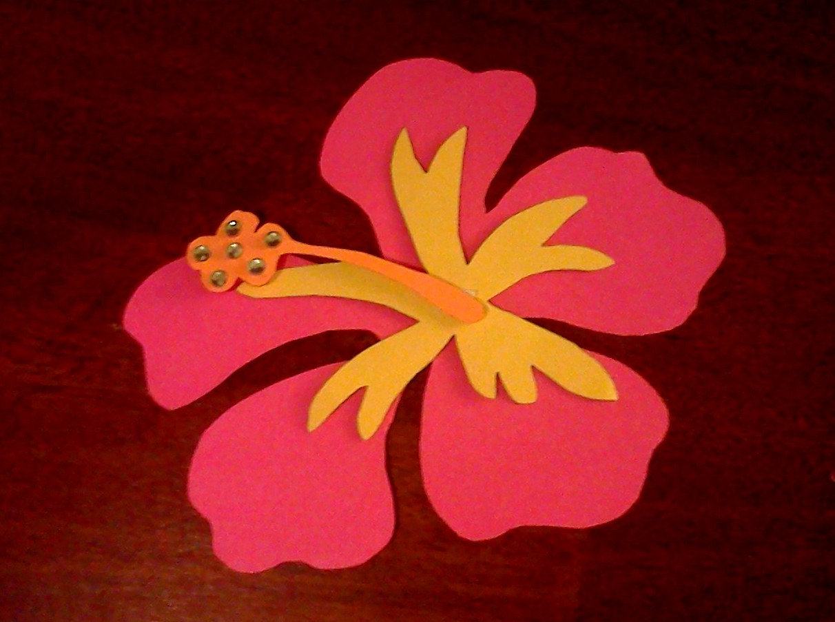 Paper Flower Cut Out Template Nurufunicaasl