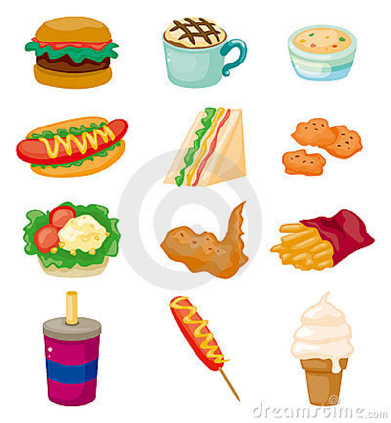 Food Cartoon - Cliparts.co