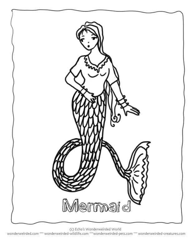 Little Mermaid Coloring Pages Book, Free Mermaid Coloring Pages ...