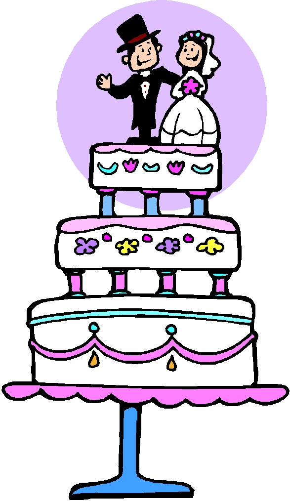 Wedding Cake Images Cartoon : Wedding Cake Cartoon Lol- - Cliparts.co