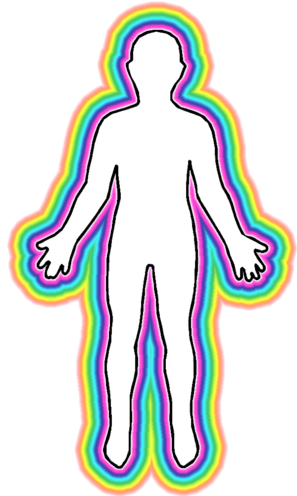 y878naly: human body outline