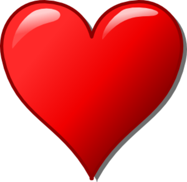 free cross and heart clipart - photo #5
