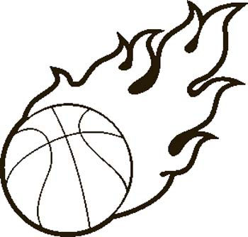 Engraving Creations - Clipart - Basketball
