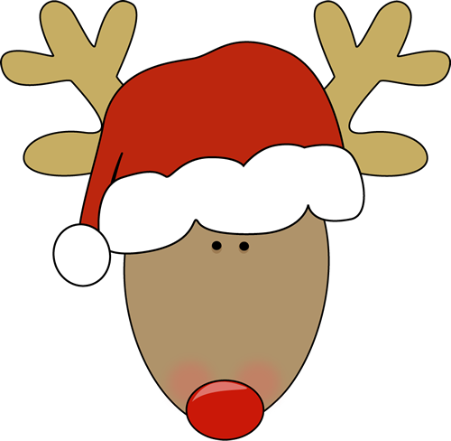 Christmas Reindeer Clip Art | quotes.