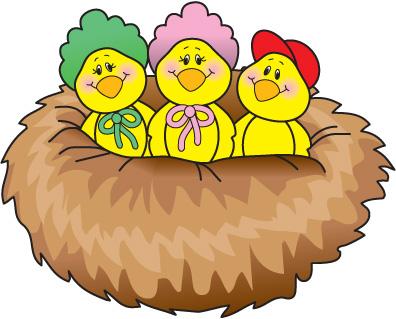 Bird nest clip art - photo#15