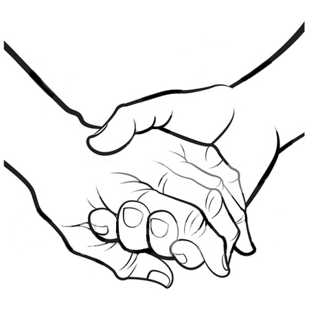 Clip Art Holding Hands - Cliparts.co