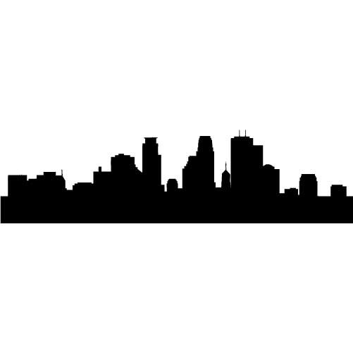 Skyline Silhouette - ClipArt Best