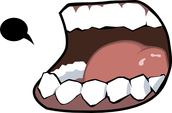 Open Mouth clip art - vector clip art online, royalty free ...