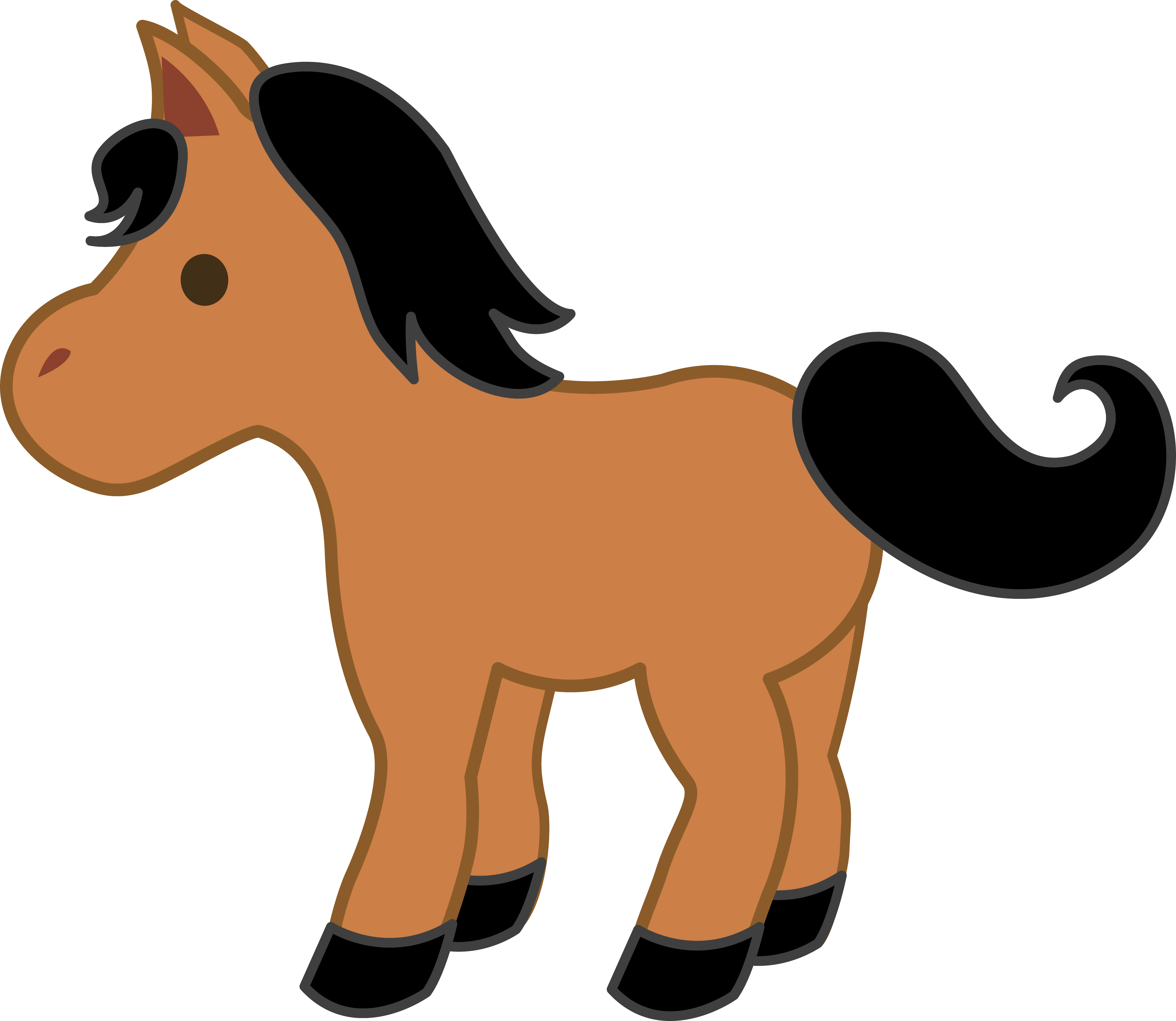 Cute Baby Horse Clipart | Clipart Panda - Free Clipart Images