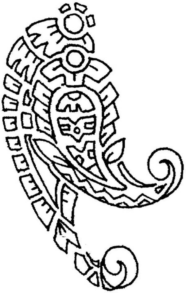 Paisley cashemire - Oriental Coloring Pages for Adults - Just ... | 945x600