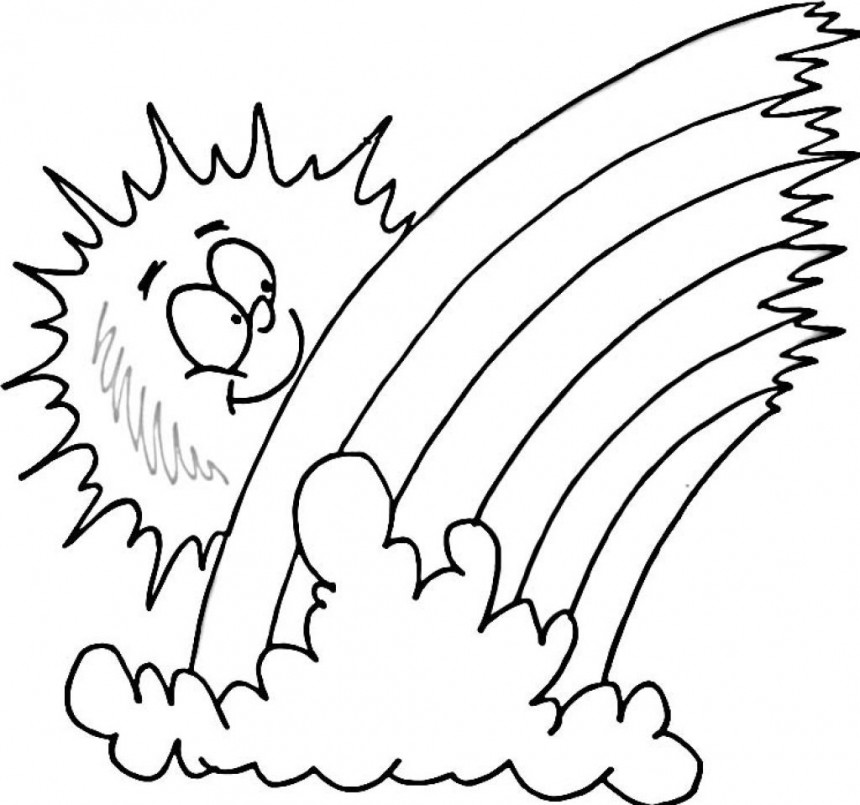 Free Cartoon Coloring Pages #9