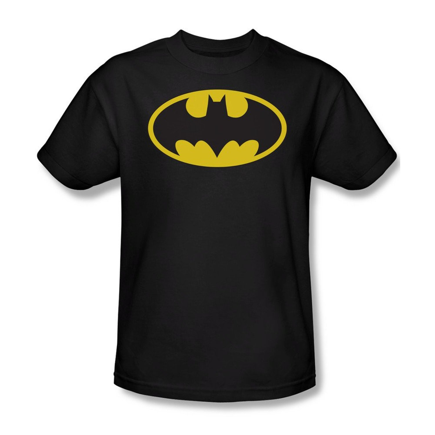 Amazon.com: Batman Official Logo Men's T-shirt: Clothing