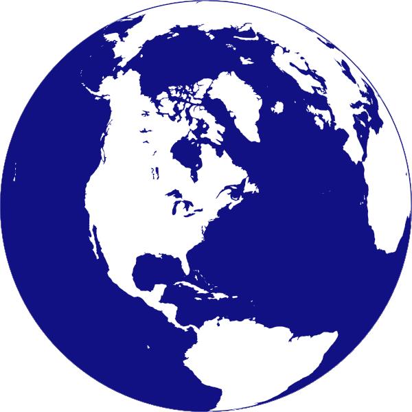 Line Art Globe : Globe line art cliparts