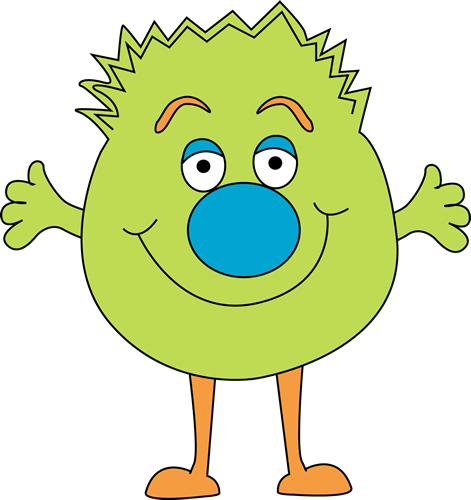 Cute Monster Clipart - Cliparts.co