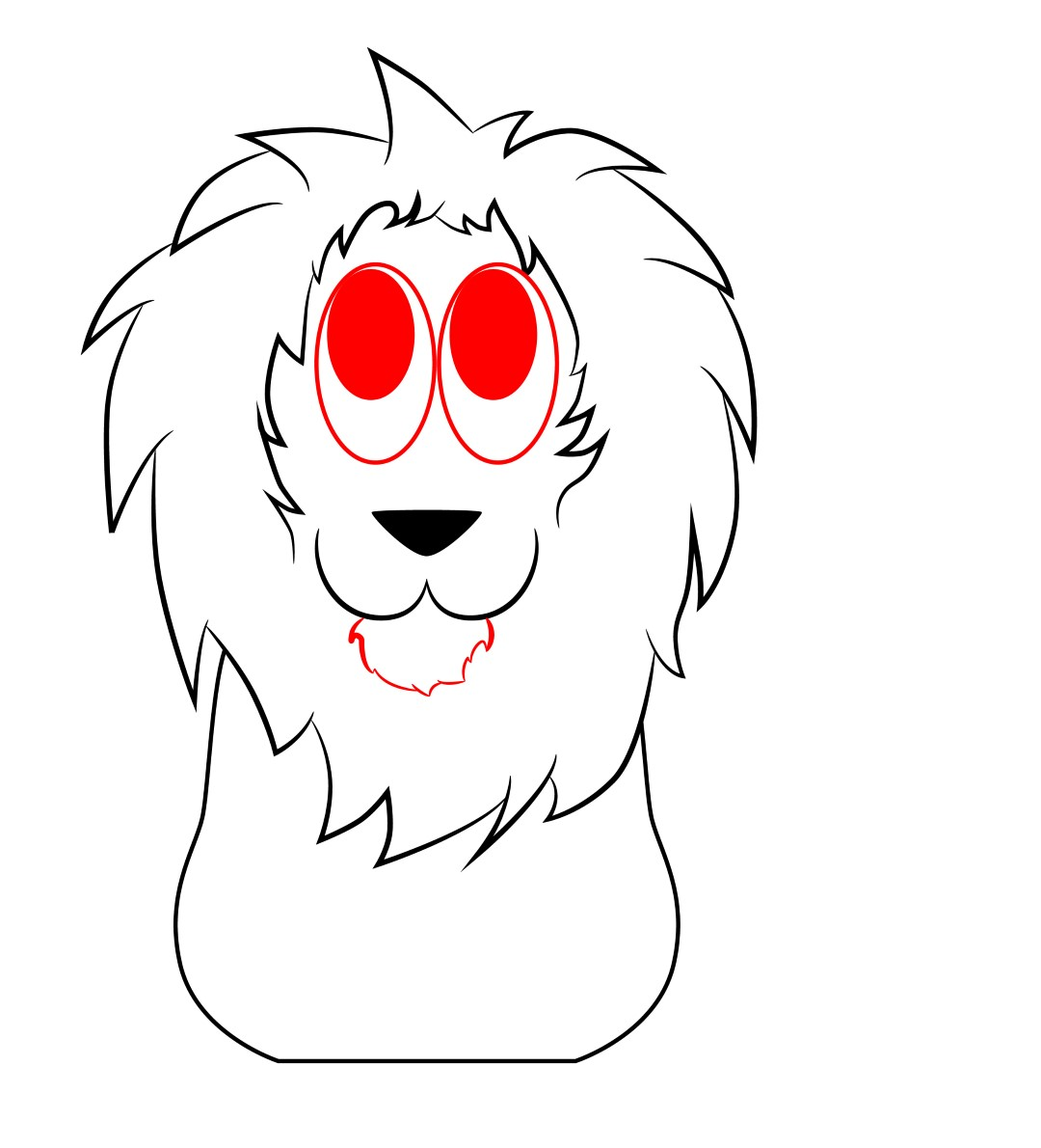 how to draw a sea lion cartoon