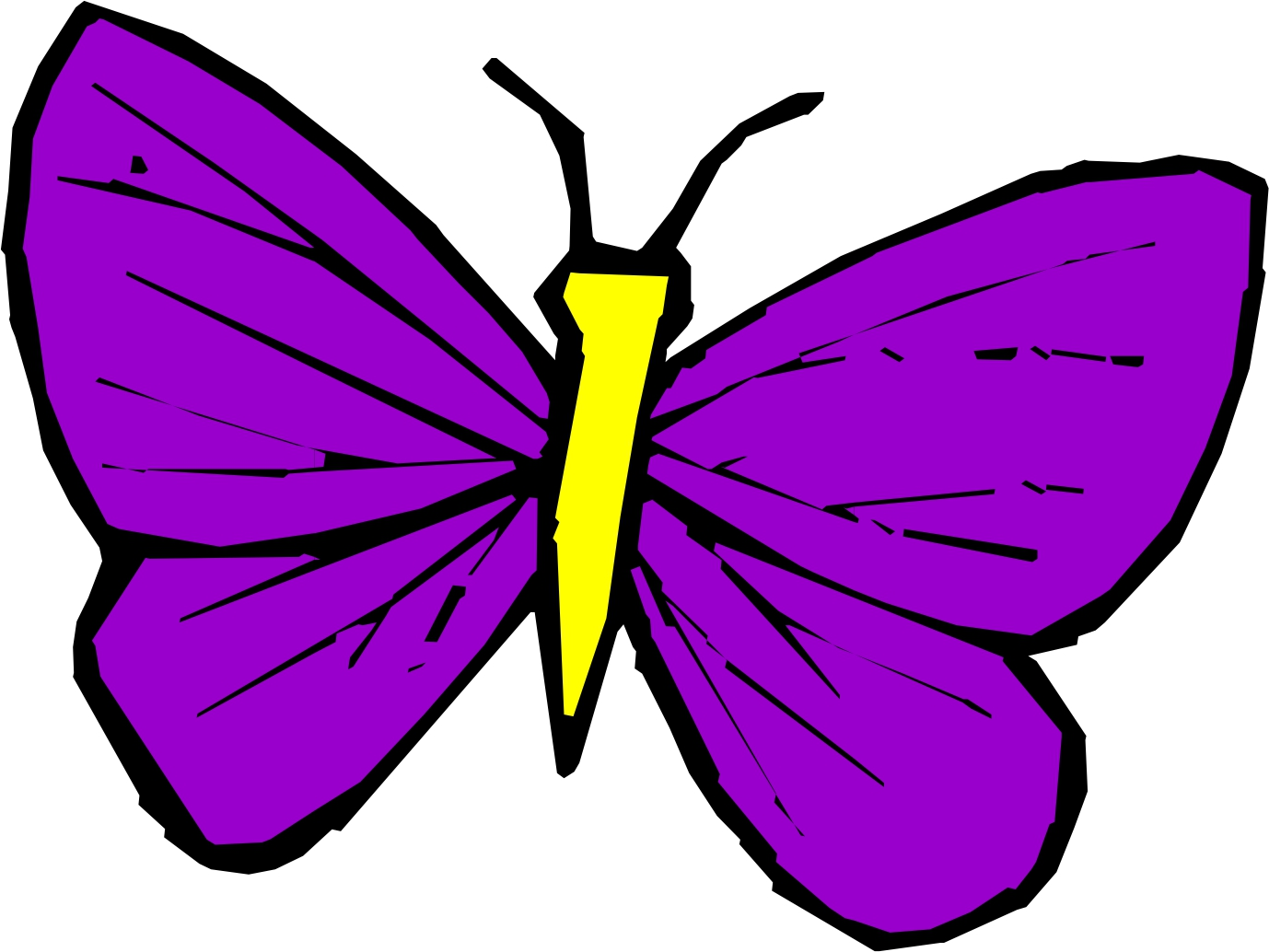 pics of cartoon butterflies cliparts co