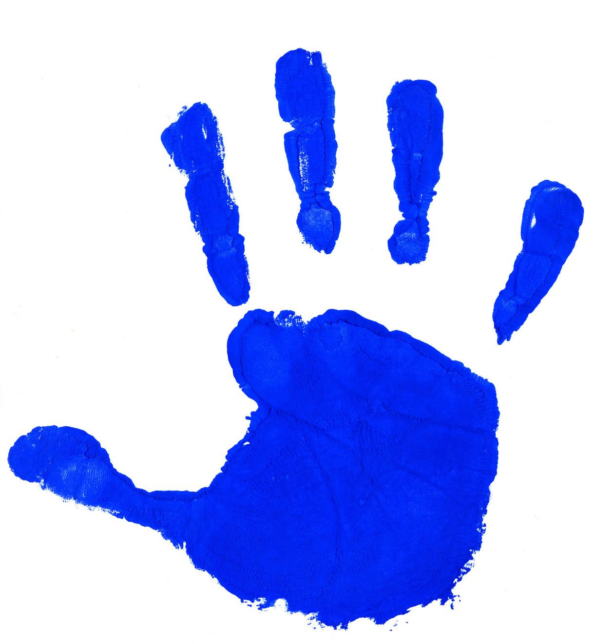 Handprint Clipart Border