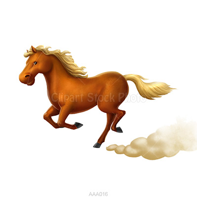 Horse running clipart - photo#21