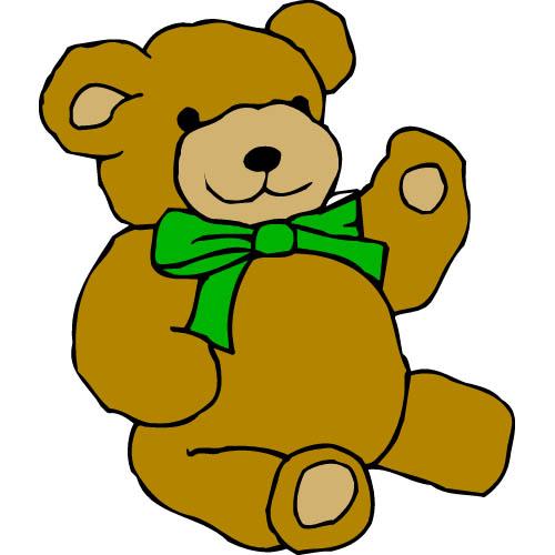 Cartoon Teddy Bear - Cliparts.co