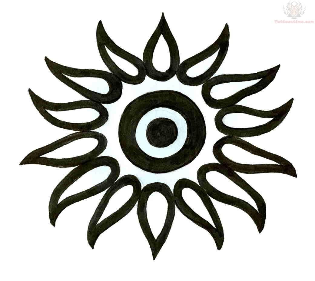 egyptian sun tattoo. Black Bedroom Furniture Sets. Home Design Ideas